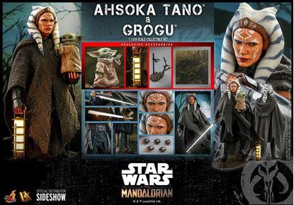 Picture of Star Wars The Mandalorian Pack de 2 Figuras 1/6 Ahsoka Tano & Grogu 29 cm RESERVA