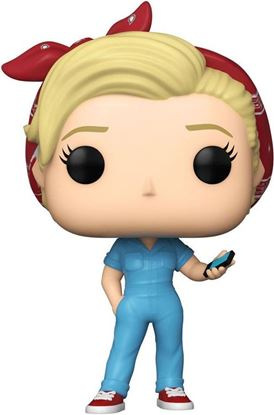Picture of Parks and Recreation POP! TV Vinyl Figura Leslie the Riveter 9 cm. DISPONIBLE APROX: NOVIEMBRE 2021