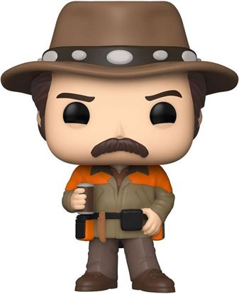 Picture of Parks and Recreation POP! TV Vinyl Figura Hunter Ron 9 cm. DISPONIBLE APROX: NOVIEMBRE 2021