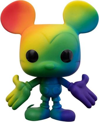 Picture of Disney POP! Pride Vinyl Figura Mickey Mouse (Rainbow) 9 cm. DISPONIBLE APROX: SEPTIEMBRE 2021