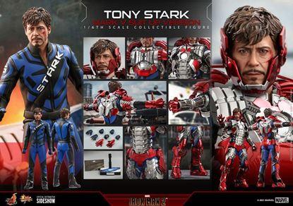 Picture of Iron Man 2 Figura Movie Masterpiece 1/6 Tony Stark (Mark V Suit Up Version) 31 cm RESERVA