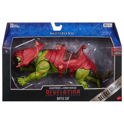 Picture of Masters of the Universe: Revelation Masterverse Figura 2021 Deluxe Battle Cat 35 cm