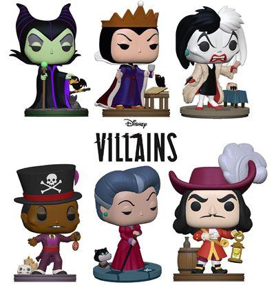 Picture of Disney: Villains POP! Disney Vinyl PACK 6 Figuras 9 cm. DISPONIBLE APROX: NOVIEMBRE 2021