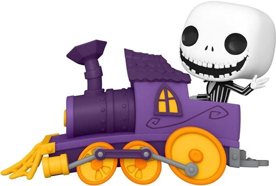 Picture of Pesadilla antes de Navidad Figura POP! Disney Train Engine Vinyl Jack in Train Engine 9 cm