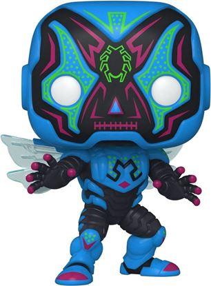 Picture of Día de los Muertos DC POP! Heroes Vinyl Figura Blue Beetle 9 cm. DISPONIBLE APROX: OCTUBRE 2021