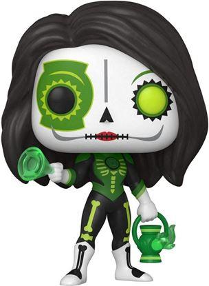 Picture of Día de los Muertos DC POP! Heroes Vinyl Figura Green Lantern (Jessica Cruz) 9 cm. DISPONIBLE APROX: OCTUBRE 2021