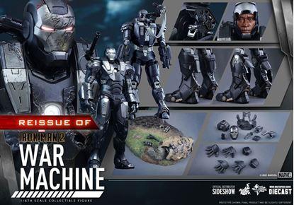 Picture of Iron Man 2 Figura Movie Masterpiece 1/6 War Machine 32 cm RESERVA