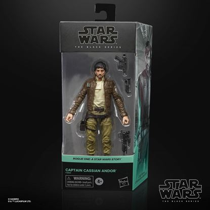 Picture of Star Wars Rogue One Black Series Figura 2021 Captain Cassian Andor 15 cm