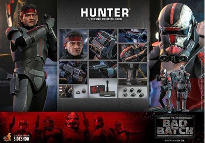 Picture of Star Wars: La remesa mala Figura 1/6 Hunter 30 cm