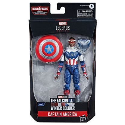 Picture of Marvel Legends Series Figura 2021  The Falcon and the Winter Soldier CAPTAIN AMERICA