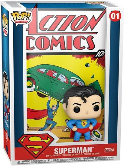 Picture of DC Comics POP! Comic Cover Vinyl Figura Superman Action Comic 9 cm. DISPONIBLE APROX: AGOSTO 2021