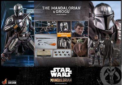 Picture of Star Wars The Mandalorian Pack de 2 Figuras 1/6 The Mandalorian & Grogu 30 cm RESERVA
