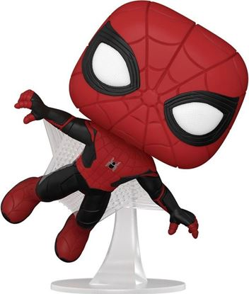 Picture of Spider-Man: No Way Home Figura POP! Vinyl Spider-Man (Upgraded Suit) 9 cm. DISPONIBLE APROX: NOVIEMBRE 2021