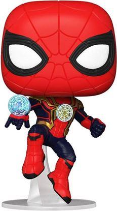 Picture of Spider-Man: No Way Home POP! Vinyl Figura Spider-Man (Integrated Suit) 9 cm. DISPONIBLE APROX: NOVIEMBRE 2021