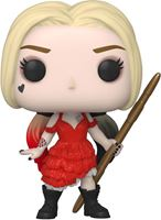 Picture of The Suicide Squad POP! Movies Vinyl Figura Harley Quinn (Damaged Dress) 9 cm. DISPONIBLE APROX: OCTUBRE 2021