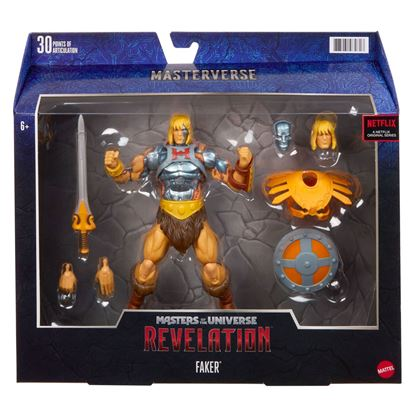 Picture of Masters of the Universe: Revelation Masterverse Figura 2021 Faker 18 cm