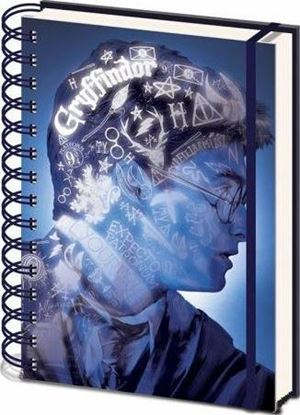 Picture of Cuaderno A5 3D Magical Portrait - Harry Potter