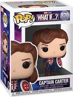 Picture of What If...? POP! Marvel Vinyl Figura Captain Carter 9 cm. DISPONIBLE APROX: SEPTIEMBRE 2021