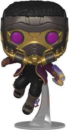 Picture of What If...? POP! Marvel Vinyl Figura T'Challa Star-Lord 9 cm. DISPONIBLE APROX: SEPTIEMBRE 2021