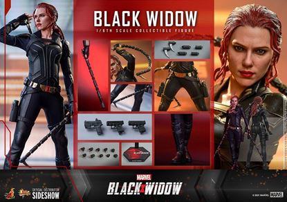 Picture of Black Widow Figura Movie Masterpiece 1/6 Black Widow 28 cm