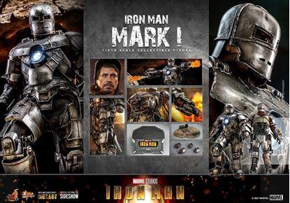 Picture of Iron Man Figura Movie Masterpiece 1/6 Iron Man Mark I 30 cm