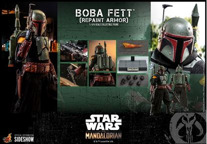 Picture of Star Wars The Mandalorian Figura 1/6 Boba Fett (Repaint Armor) 30 cm RESERVA