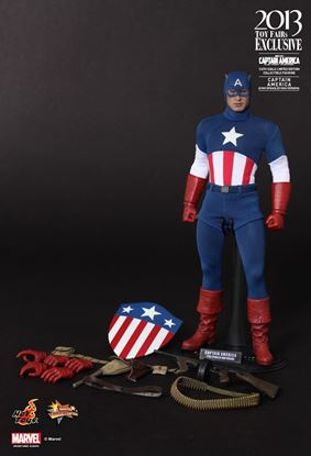 Picture of Hot toys Captain America the First Avenger (Star Spangled Man)