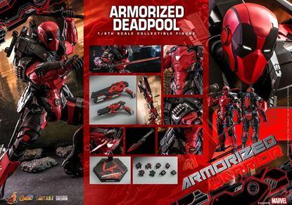 Picture of Marvel Comic Masterpiece Figura 1/6 Armorized Deadpool 33 cm