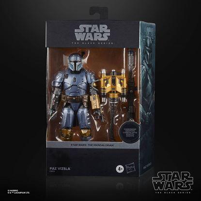 Picture of Star Wars The Mandalorian Black Series Carbonized Figura 2021 Paz Vizsla 15 cm