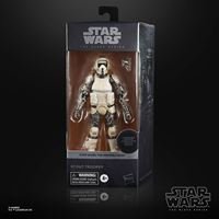 Picture of Star Wars The Mandalorian Black Series Carbonized Figura 2021 Scout Trooper 15 cm