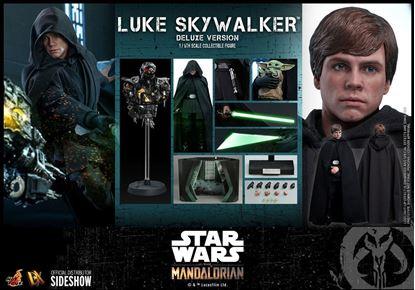 Picture of Star Wars The Mandalorian Figura 1/6 Luke Skywalker (Deluxe Version) 30 cm RESERVA