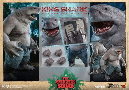 Picture of Escuadrón Suicida Figura Movie Masterpiece 1/6 King Shark 35 cm RESERVA