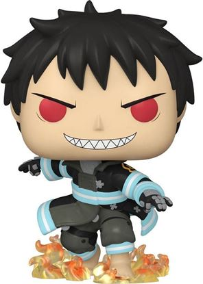Picture of Fire Force Figura POP! Animation Vinyl Shinra with Fire 9 cm. DISPONIBLE APROX: FEBRERO 2022