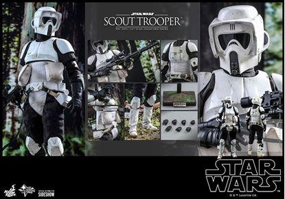 Picture of Star Wars Episode VI Figura 1/6 Scout Trooper 30 cm
