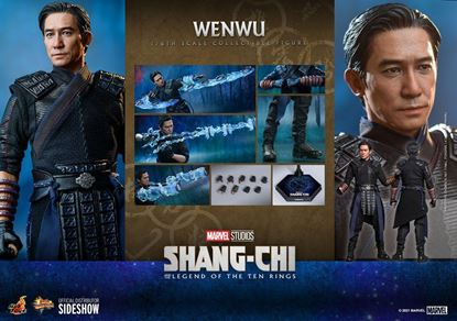 Picture of Shang-Chi and the Legend of the Ten Rings Figura Movie Masterpiece 1/6 Wenwu 28 cm RESERVA