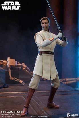 Picture of Star Wars The Clone Wars Figura 1/6 Obi-Wan Kenobi 30 cm RESERVA