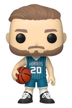 Picture of NBA Charlotte Hornets POP! Basketball Vinyl Figura Gordon Hayward (Teal Jersey) 9 cm. DISPONIBLE APROX: NOVIEMBRE 2021