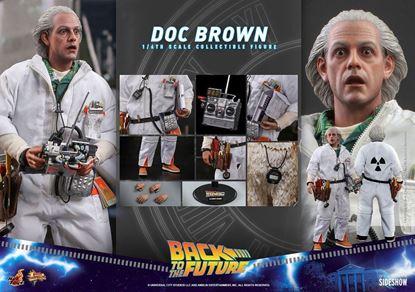 Picture of Regreso al futuro Figura Movie Masterpiece 1/6 Doc Brown 30 cm RESERVA