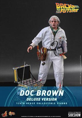 Picture of Regreso al futuro Figura Movie Masterpiece 1/6 Doc Brown (Deluxe Version) 30 cm