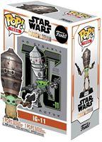 Picture of Star Wars The Mandalorian POP! & Camiseta Set The Child in Satchel IG-11 - Camiseta Talla M