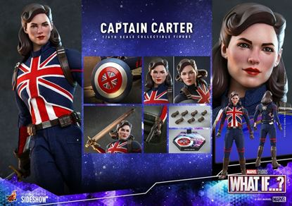 Picture of What If...? Figura 1/6 Captain Carter 29 cm RESERVA