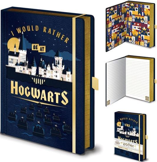 """Picture of Cuaderno A5 """"I Would Rather Be At Hogwarts"""" - Harry Potter"""