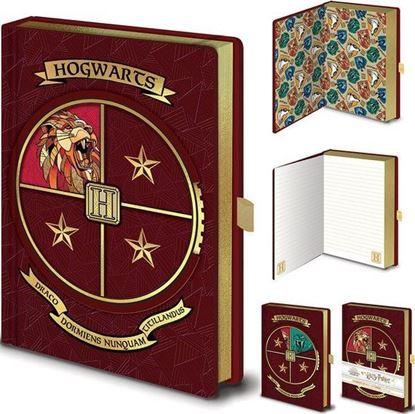 Picture of Cuaderno A5 Portada Giratoria Hogwarts - Harry Potter