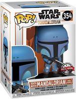 Picture of Star Wars The Mandalorian POP! TV Vinyl Figura Death Watch Mandalorian (Two Stripes) 9 cm