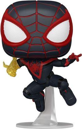 Picture of Marvel's Spider-Man POP! Games Vinyl Figura Miles Morales Classic Suit 9 cm