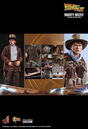 Picture of Regreso al futuro III Figura Movie Masterpiece 1/6 Marty McFly 28 cm
