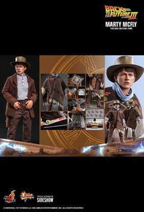 Picture of Regreso al futuro III Figura Movie Masterpiece 1/6 Marty McFly 28 cm RESERVA