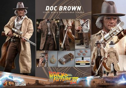 Picture of Regreso al futuro III Figura Movie Masterpiece 1/6 Doc Brown 32 cm