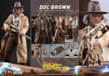 Picture of Regreso al futuro III Figura Movie Masterpiece 1/6 Doc Brown 32 cm RESERVA
