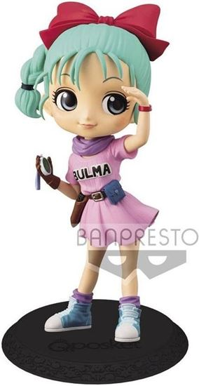 Picture of Figura Q Posket Bulma - Dragon Ball - Version A 14 cm